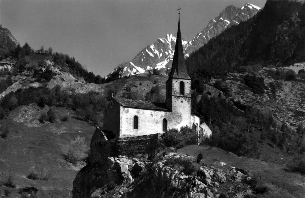 Église de Rarogne, années 1970 (Photo: Gérard Salamin)