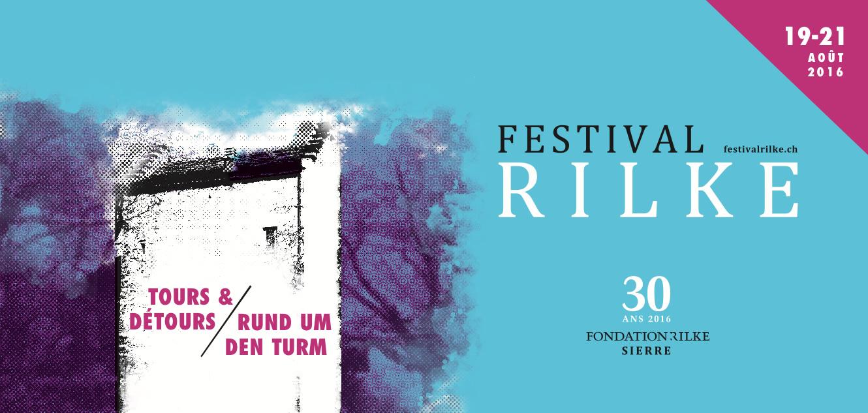 Affiche du Festival Rilke 2016