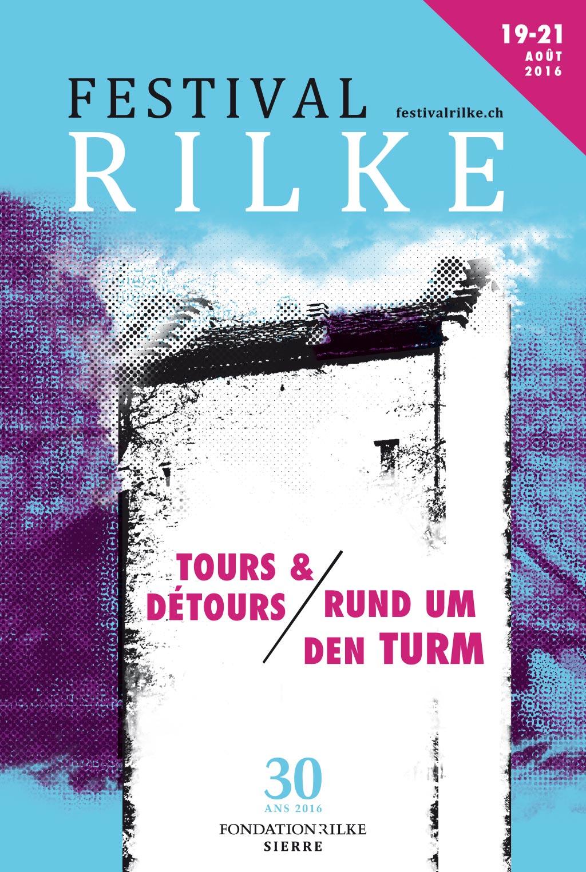 Festival Rilke 2016: affiche